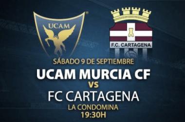 Previa UCAM - FC Cartagena : derbi por todo lo alto en La Condomina
