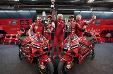 Foto: Redes sociales Ducati