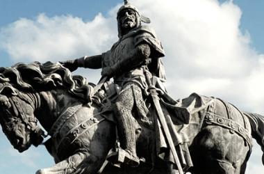 Estatua ecuestre de Jaime I en Valencia   Fotografía: Xus JC
