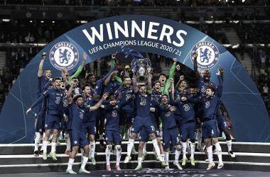 Los 'Blues' se coronaron campeones del máximo torneo europeo| Foto: UEFA