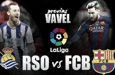 Fotomontaje Real Sociedad - FC Barcelona: Foto: Fotomontaes VAVEL