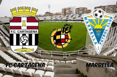 FC Cartagena-Marbella: la lucha por la primera plaza esta en juego