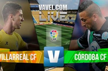 Resultado Villarreal - Córdoba en la Liga BBVA 2015 (0-0)