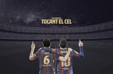 Los 767 partidos de Messi