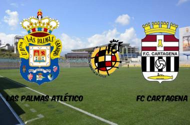Las Palmas Atlético-FC Cartagena: un filial fuerte en casa recibe al colíder del grupo cuarto
