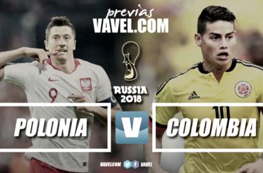 Previa Polonia- Colombia: el partido del K.O entre las favoritas. Foto montaje: Daniel Souto