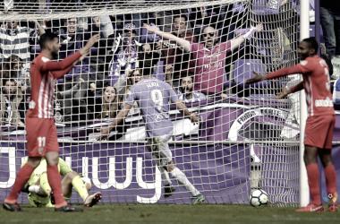 Jaime Mata celebra su gol número 25 / Foto: laliga.es/laliga-123