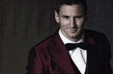 Messi admite que fue justa la victoria de Ronaldo. Foto: Ole.com.ar