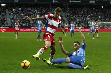 El Málaga, rival del Granada CF en dieciseisavos de Copa del Rey