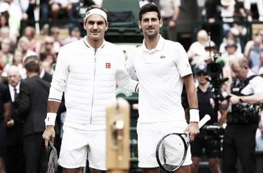 Federer vs Djokovic, un clásico del tenis