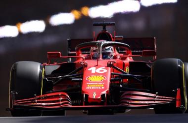 Charles Leclerc en el Circuit de Monaco. Vía: Formula 1 Official.