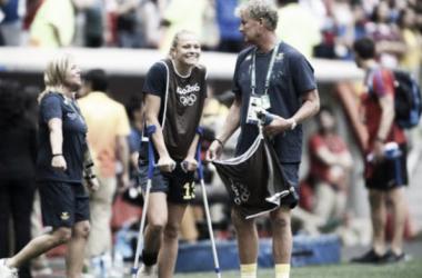 Whilst Rolfo hasn't set Sweden a light she's kept her side ticking over up top. | Image source: Expressen.se