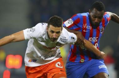 Les buts de Guingamp-Caen