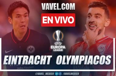 Resumen y goles: Eintracht Frankfurt 3-1 Olympiacos en UEFA Europa League 2021-22