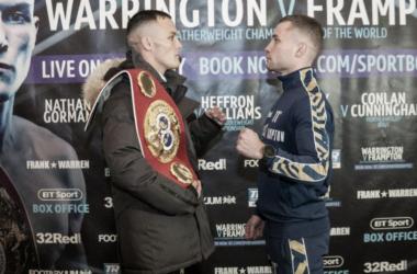 Warrington y Frampton protagonizarán lo que promete ser una de las peleas del fin de semana (Foto: Queensberry Promotions)