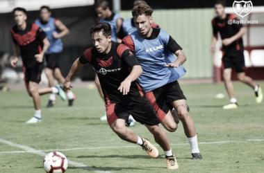 Otro díamás con doble sesión de entrenamiento | Imagen: Rayo Vallecano