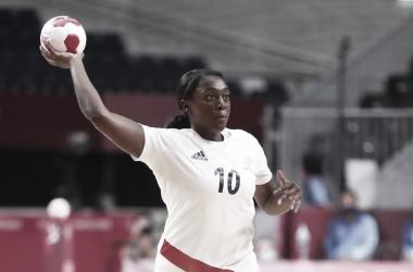 Women's Handball in Olympics Tokyo 2020:  Goals and Resume France vs Netherlands (32-22)