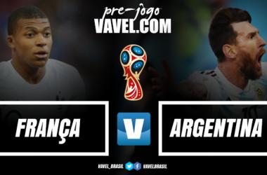 Com 3 Copas do Mundo em campo, França e Argentina abrem as oitavas de final neste sábado