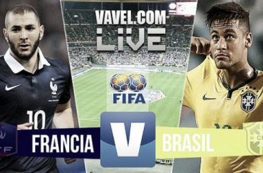 Risultato Francia 1-3 Brasile in partita amichevole 2015