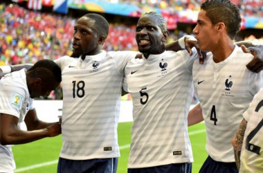 Francia - Suiza: Puntuaciones de Francia, jornada 2 grupo E