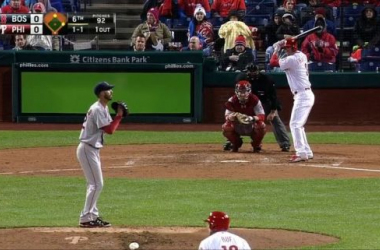 Jeff Francoeur Smashes a three-run homer to give the Phillies the win. -- www.mlb.com, 4/8/15