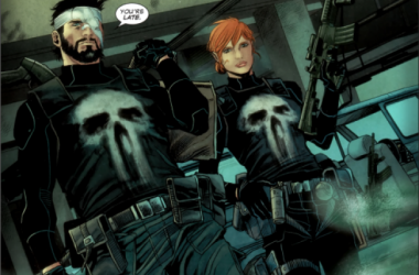 "The Punisher and his new partner, Sgt. Cole-Alves. image source ""moarpowah.com"""