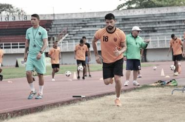 "Franklin Lucena: ""Espero poder llevar al equipo a lo mas alto posible de la tabla "", Foto: Prensa Portuguesa FC"