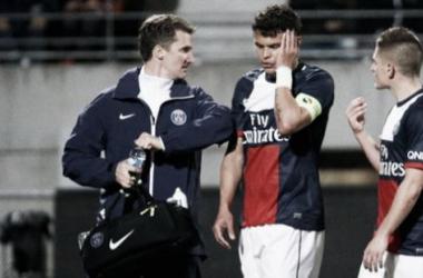 Thiago Silva sofre fratura, mas não desfalcará o PSG na Uefa Champions League