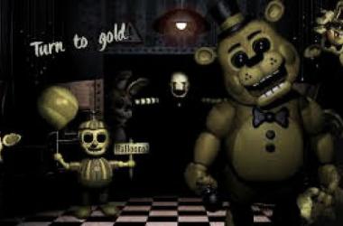 Fotograma del videojuego Five nights at Freddy´s (foto (sin efecto) gameit)