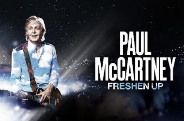 Imagen promocional de la gira 'Freshen Up' | Fuente: Web Oficial de Paul McCartney