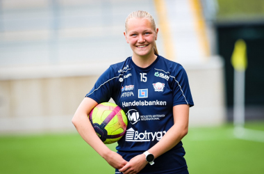 """Linköping are really good at taking care of younger players"" - Norwegian international Frida Leonhardsen Maanum talks 2020 season with Linköpings FC"