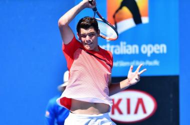Taylor Fritz/Theo Karanikos (Tennis Australia)