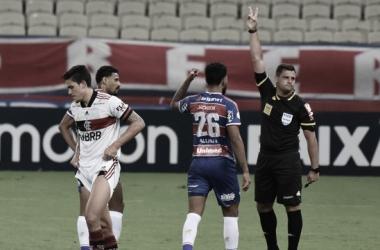 Pedro lamenta pênalti perdido em Fortaleza, mas garante foco do Flamengo para vencer Brasileiro