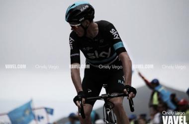 Froome durante una carrera la pasada temporada | Foto: Onely Vega - VAVEL