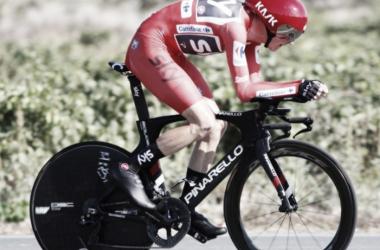 Froome fue el más fuerte en su terreno y refuerza su liderato | Foto: PhotoGomez Sport