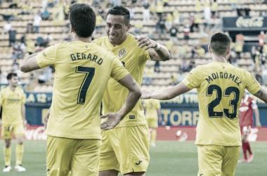 Gol de Gerard | Foto: Villarreal CF