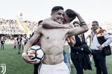 Com tripletta de Dybala, Juventus bate lanterna Benevento e mantém vantagem na ponta