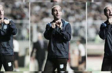 Juan Gambandé, entrenador de arqueros   Foto: Mundo D