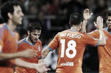Javi Fuego y Pablo Piatti, últimos jugadores en defender a ambos bandos | Foto: Vakencia CF