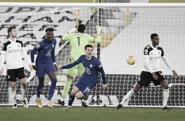 Mason Mount convirtió su tercer gol en la temporada. Foto: Chelsea