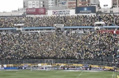 América visitará el Estadio Azul. Un escenario que vive sus últimos días (Foto: Fun soccer)