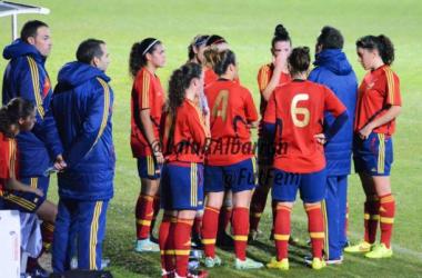 La selección sub-19 viaja el lunes a Israel y debuta el miércoles en el Europeo. | Foto: Lalu Albarrán (FutFem).