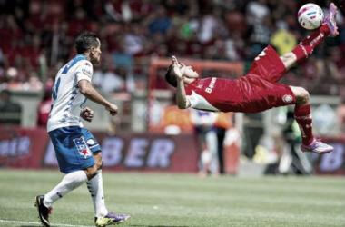Puebla -Toluca: Por la tercera victoria consecutiva