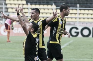 Con gol de Victor Aquino el Deportivo Táchira mantiene el invicto / www.deportivotachira.com