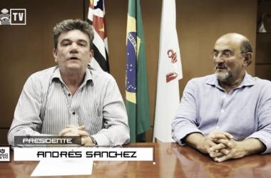 Andrés e Rosenberg estiveram em coletiva há duas semanas, mas não agradaram nas declarações (Foto: Reprodução)