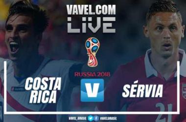 Resultado Costa Rica x Sérvia na Copa do Mundo (0-1)
