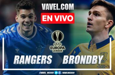 Goles y resumen del Rangers 2-0 Brondby en UEFA Europa League
