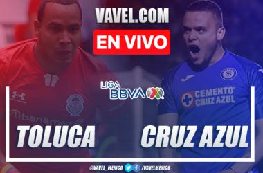 Resumen y goles del Toluca 3-3 Cruz Azul en Liga MX 2020