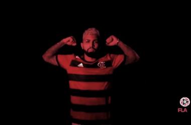Reprodução/ Twitter Flamengo