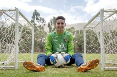 Jose Gabriel Cevallos, portero titular de Ecuador que representará en el Mundial sub-20. Foto: El Telégrafo